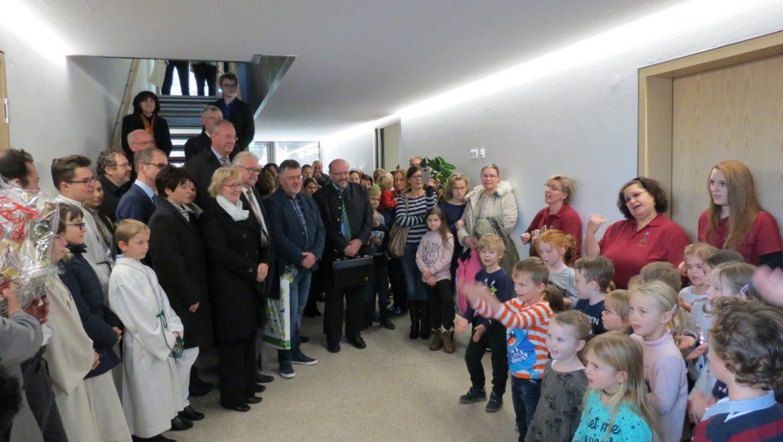 Einweihung Gemeinschaftshaus in Reichenbach
