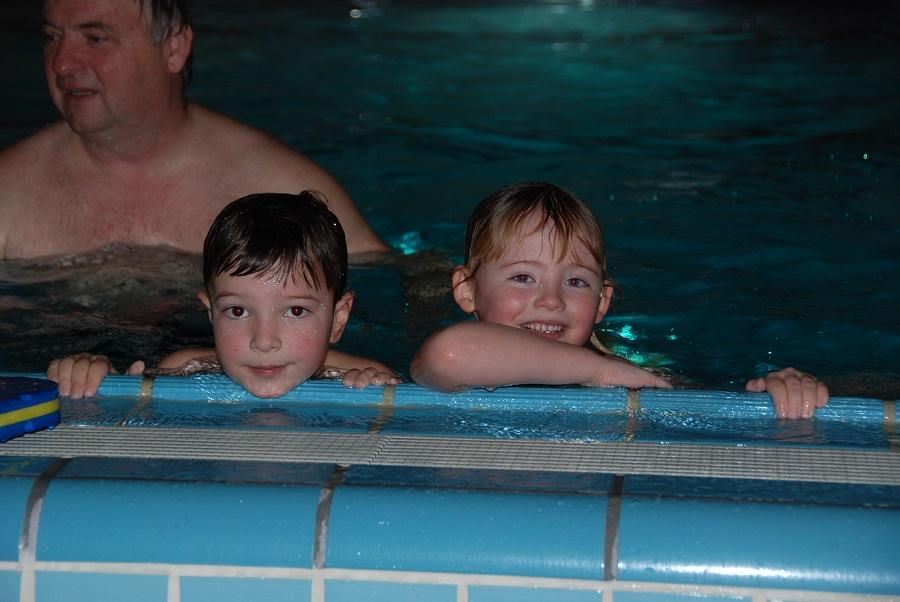 Schwimmkurs im Kinderhaus