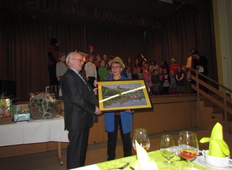 Bürgermeister Franz Pestenhofer wurde 70 Jahre