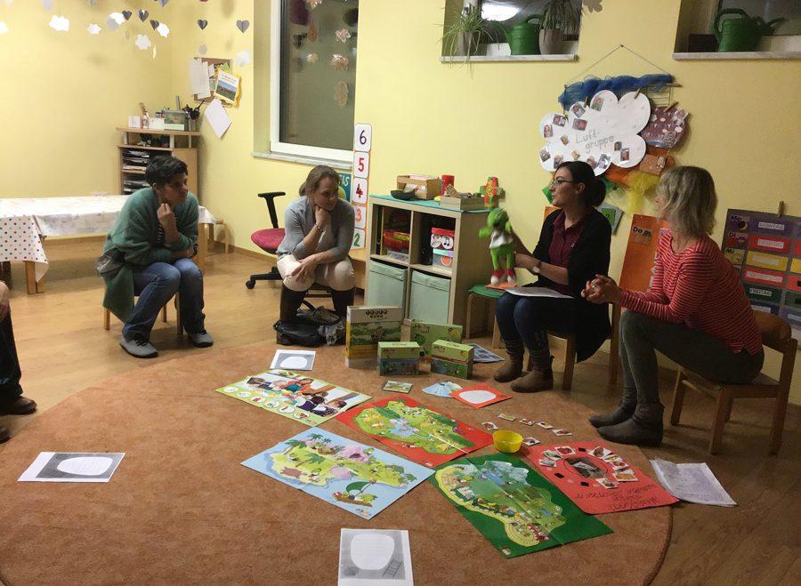 Eltern erhielten Einblick in die pädagogische Arbeit im Kinderhaus St. Paulus Reichenbach