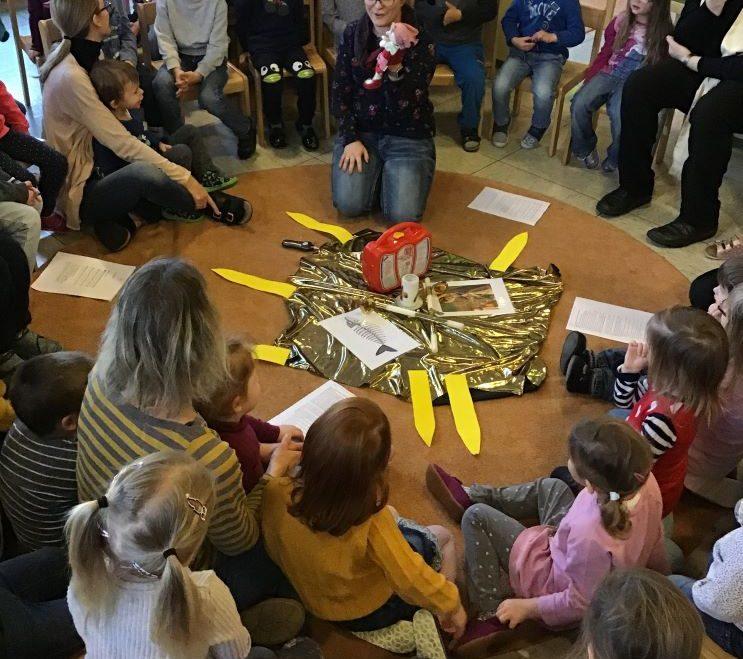 Blasiusfeier im Kinderhaus