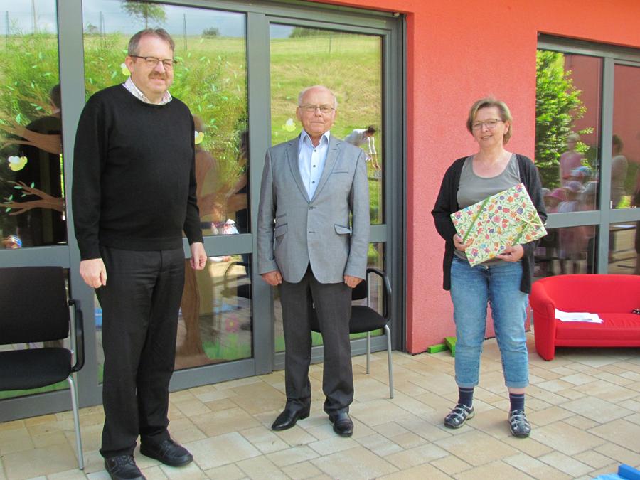 """""""Spitze, dass du da warst"""" 24 Jahre – eine lange Zeit der guten Zusammenarbeit zwischen Kinderhaus und Bürgermeister Pestenhofer"""