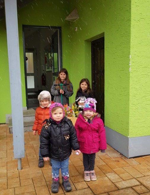 Elternbeirat überbringt Frühjahrsgruß verbunden mit dem Dank für die tolle Arbeit während der Coronapandemie